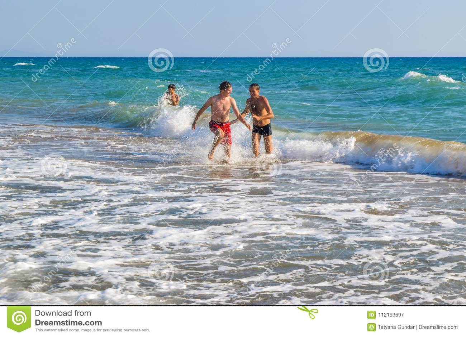 De aktiva strandlekarna