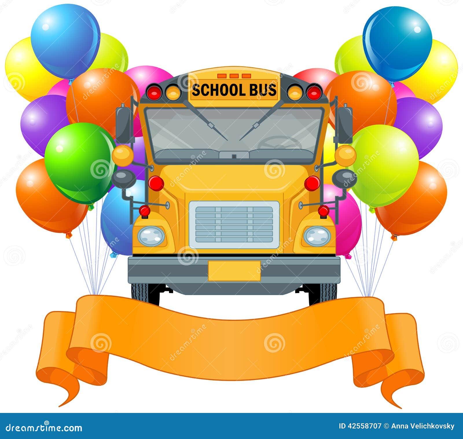 De Amerikaanse Bus van de School