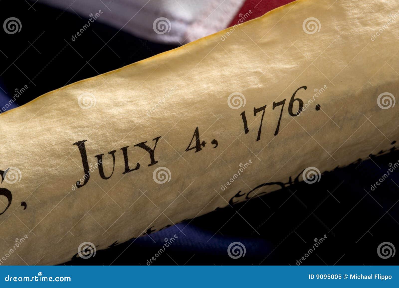 De Amerikaanse Dag van de Onafhankelijkheid