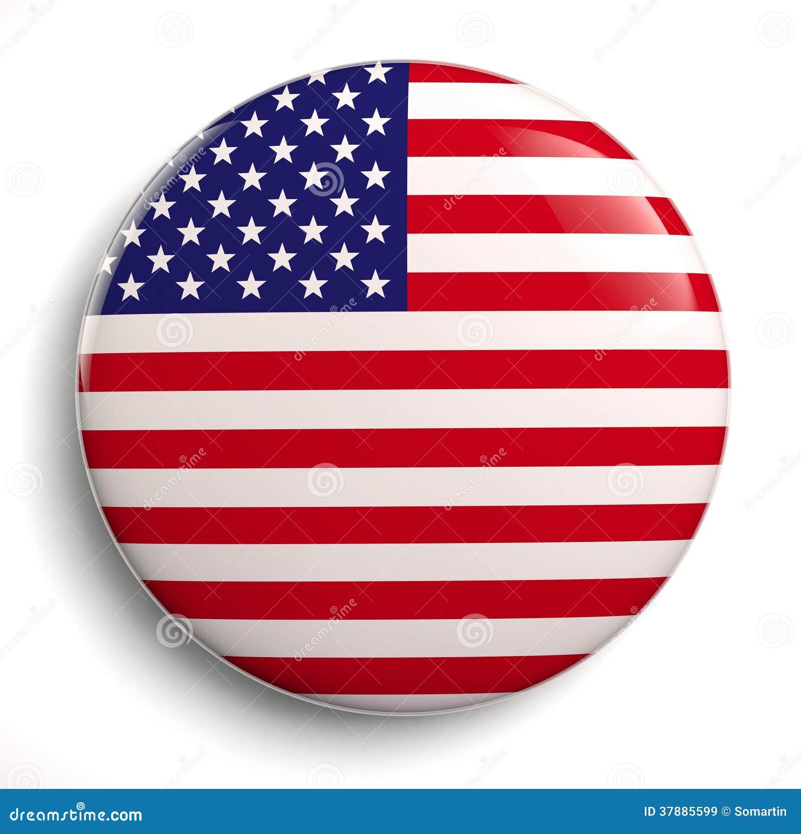 De Amerikaanse vlag van de V