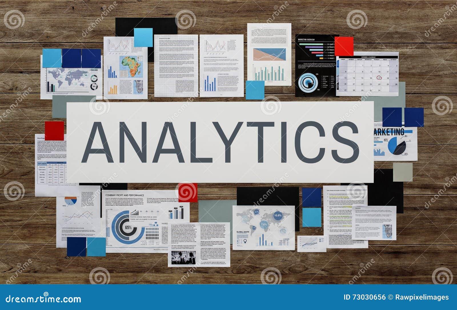 De Analyticsstatistieken analyseren de Patronenconcept van de Gegevensanalyse
