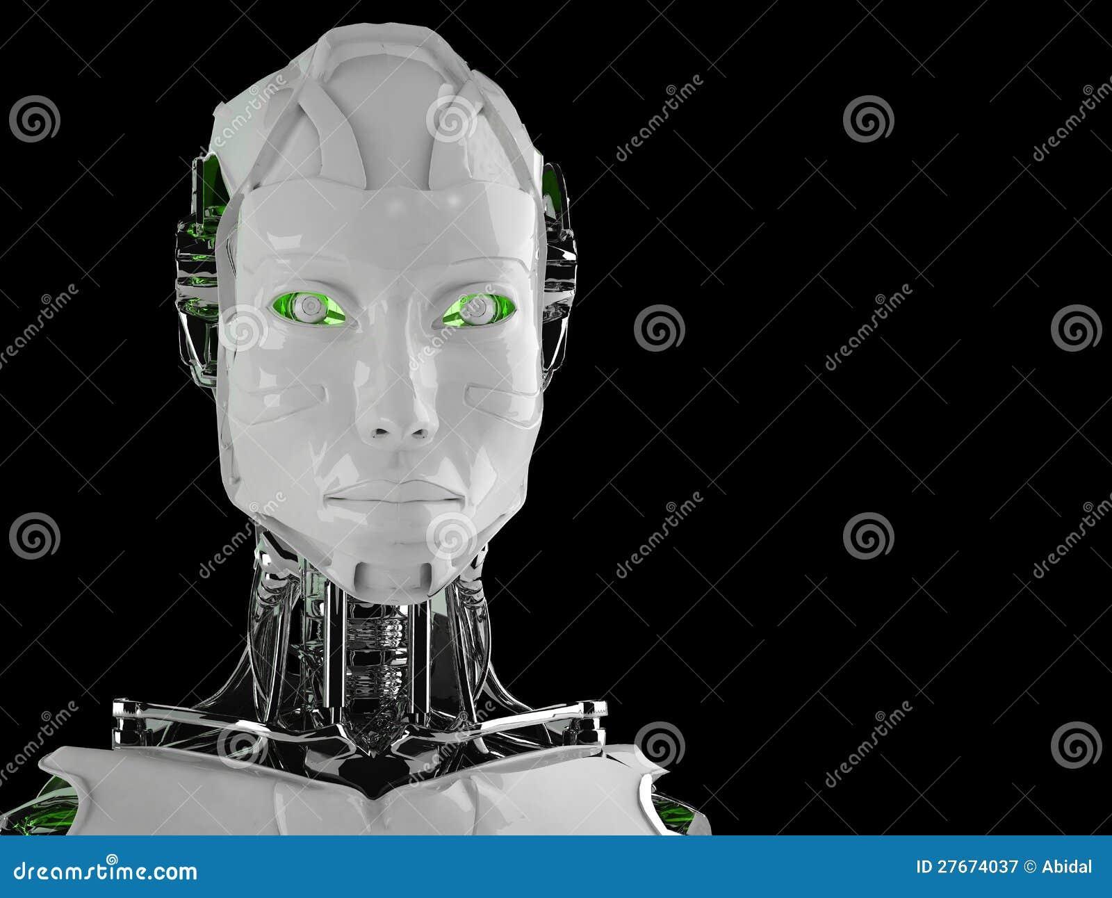 De androïde vrouwen van de robot