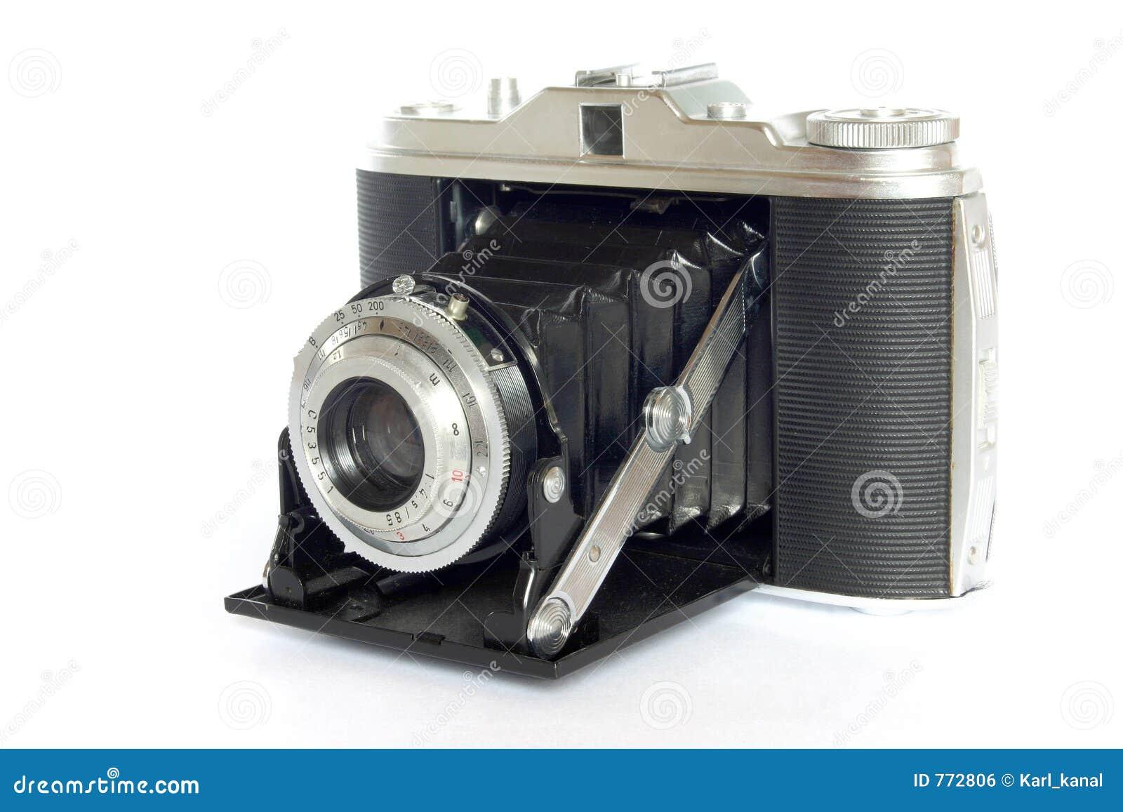 De antieke camera van de foto stock foto afbeelding 772806 - Foto in camera ...