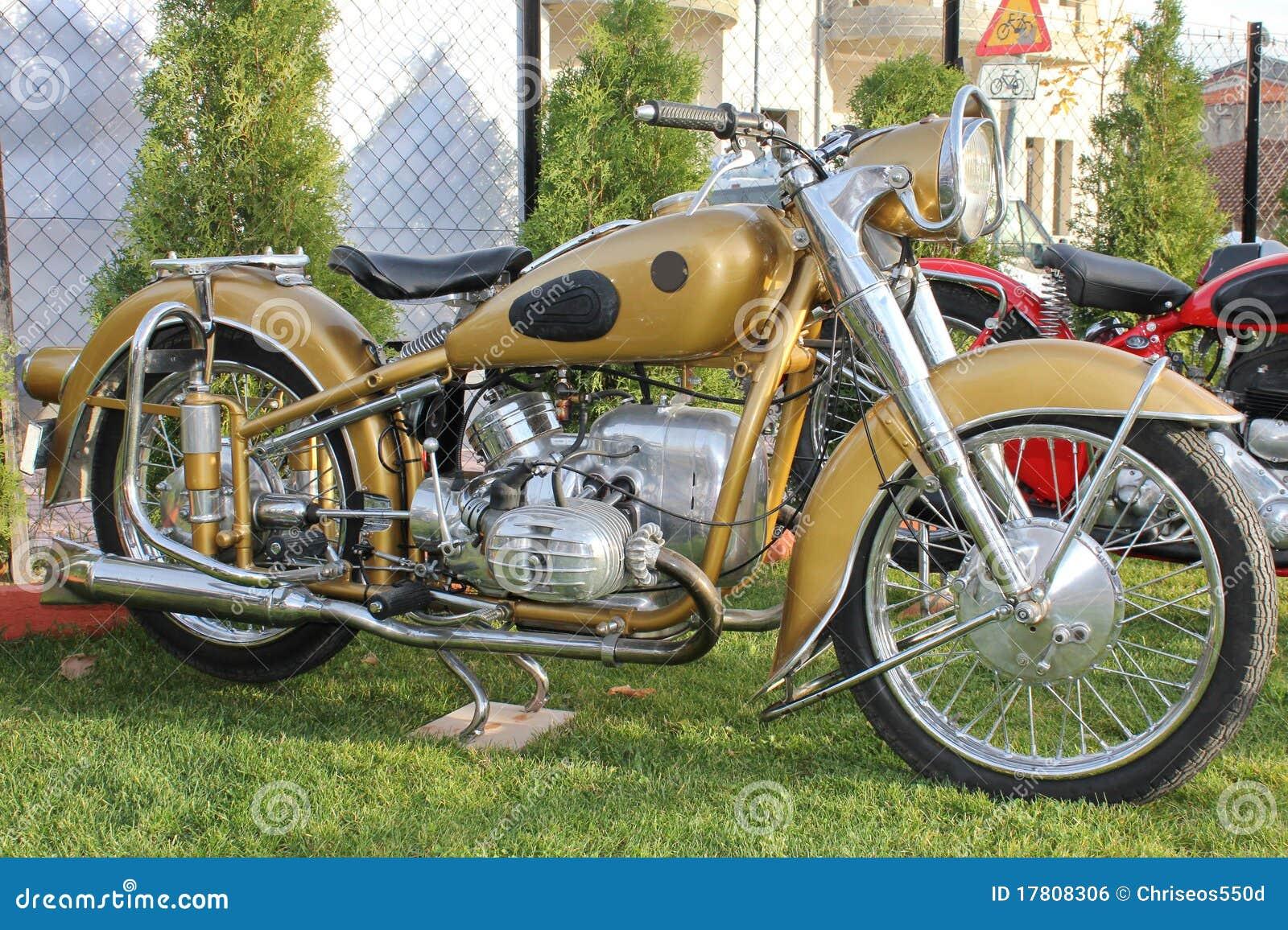 antieke motorfiets