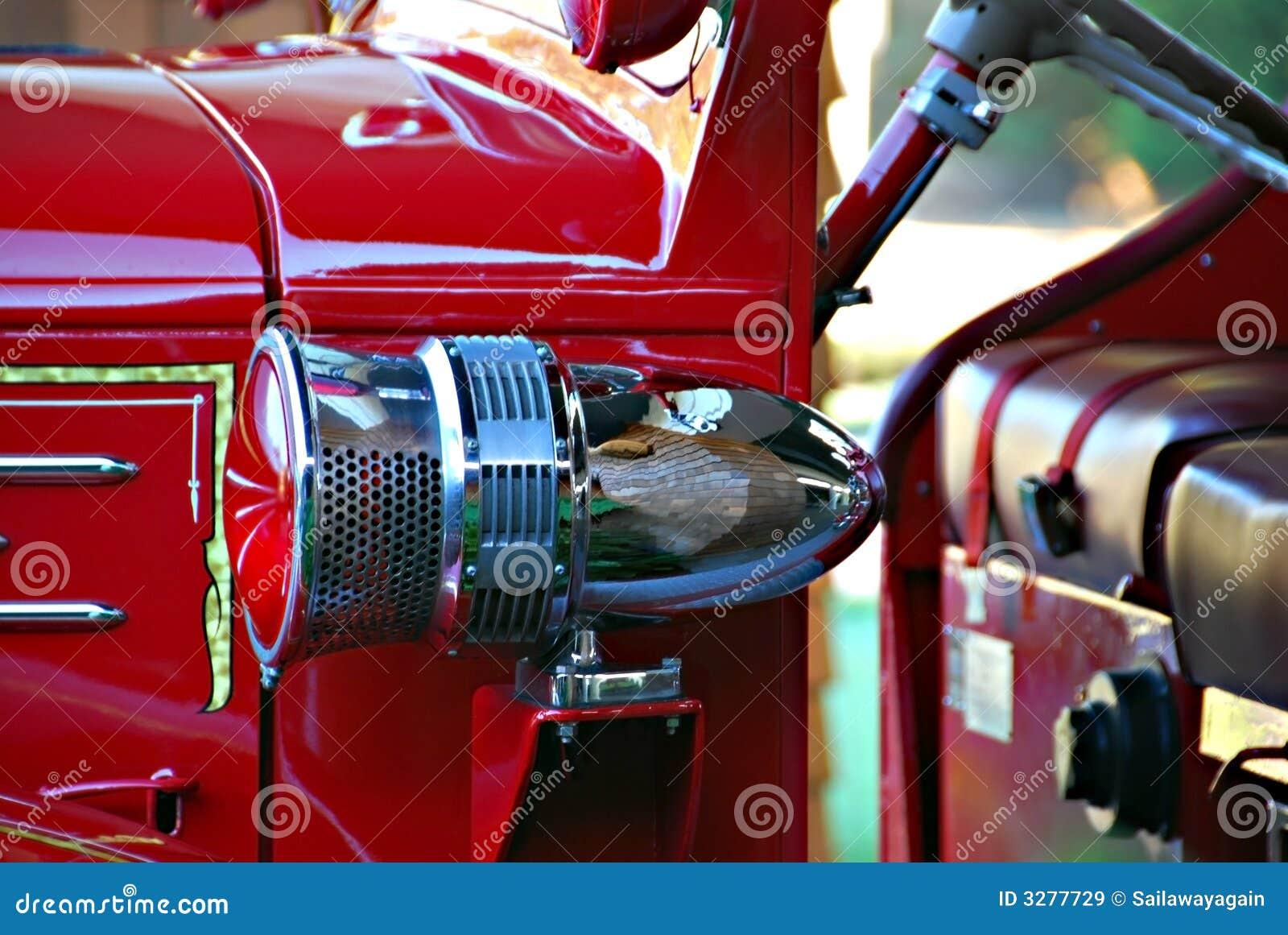 De antieke Sirene van de Motor van de Brand