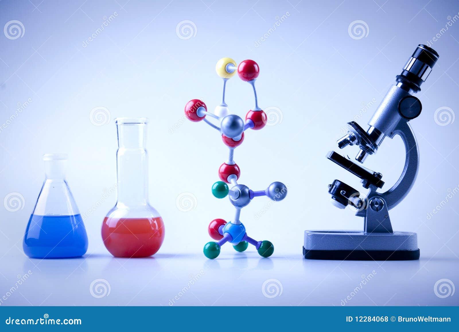 De Apparatuur van de chemie