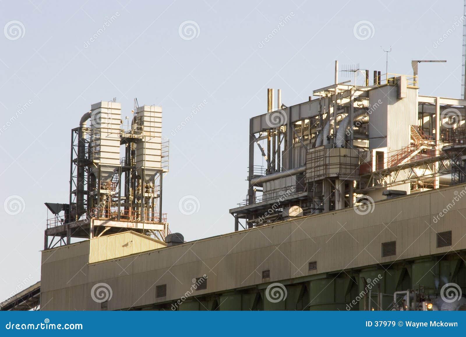 De apparatuur van de krachtcentrale