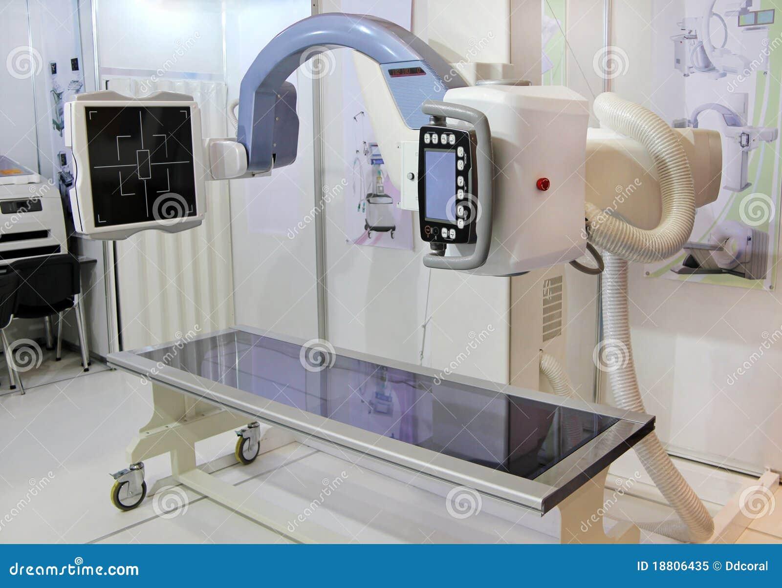 De apparatuur van de röntgenstraal