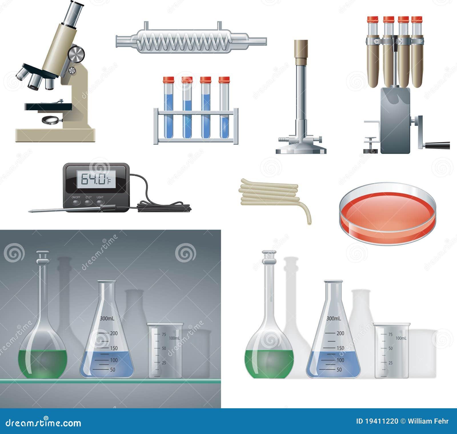 De Apparatuur van het laboratorium