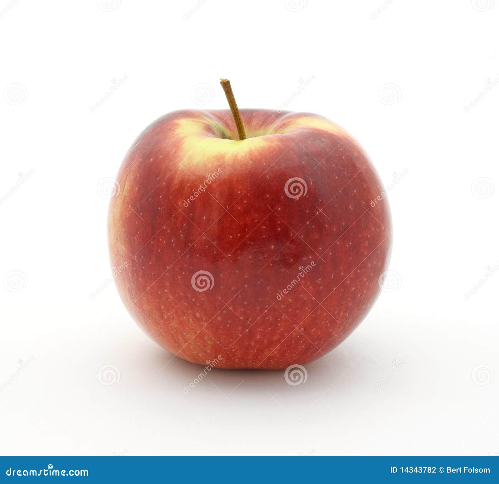 De appel van het imperium op witte achtergrond