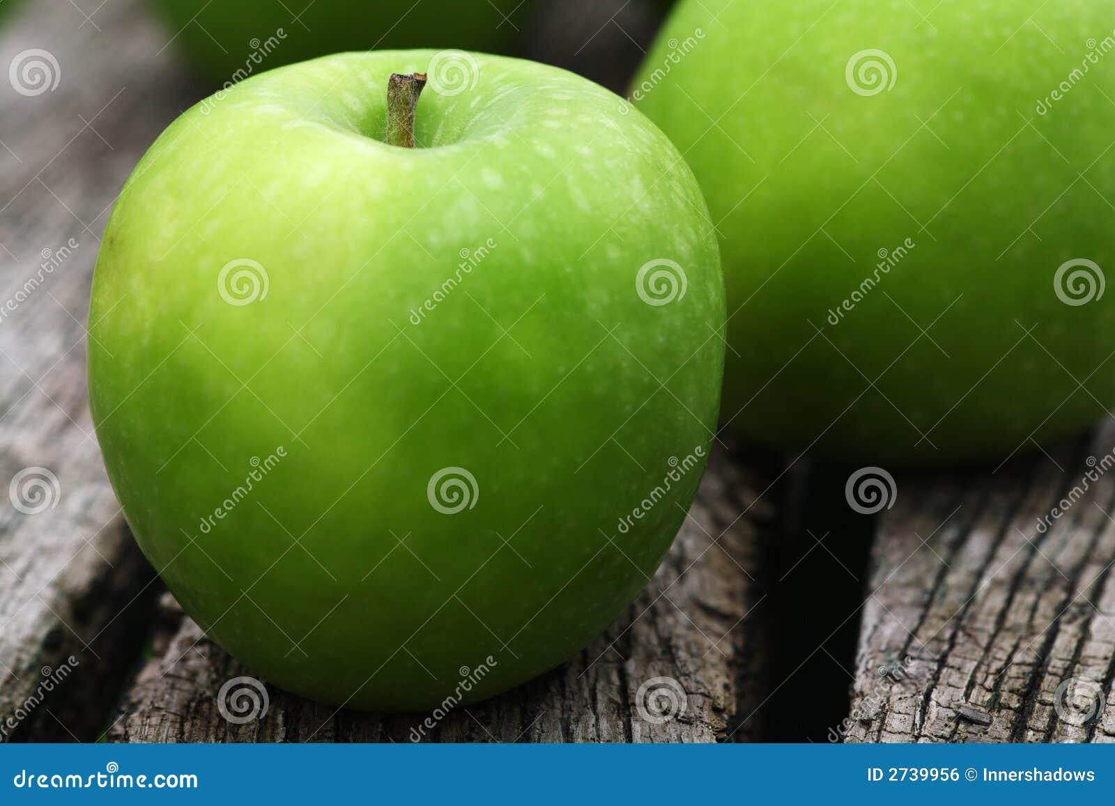 De appelen van de Granny Smith