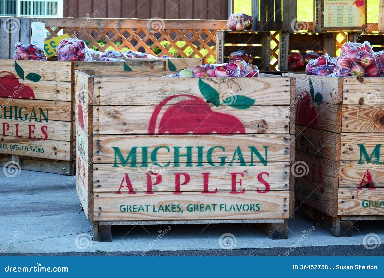 De appelen van Michigan