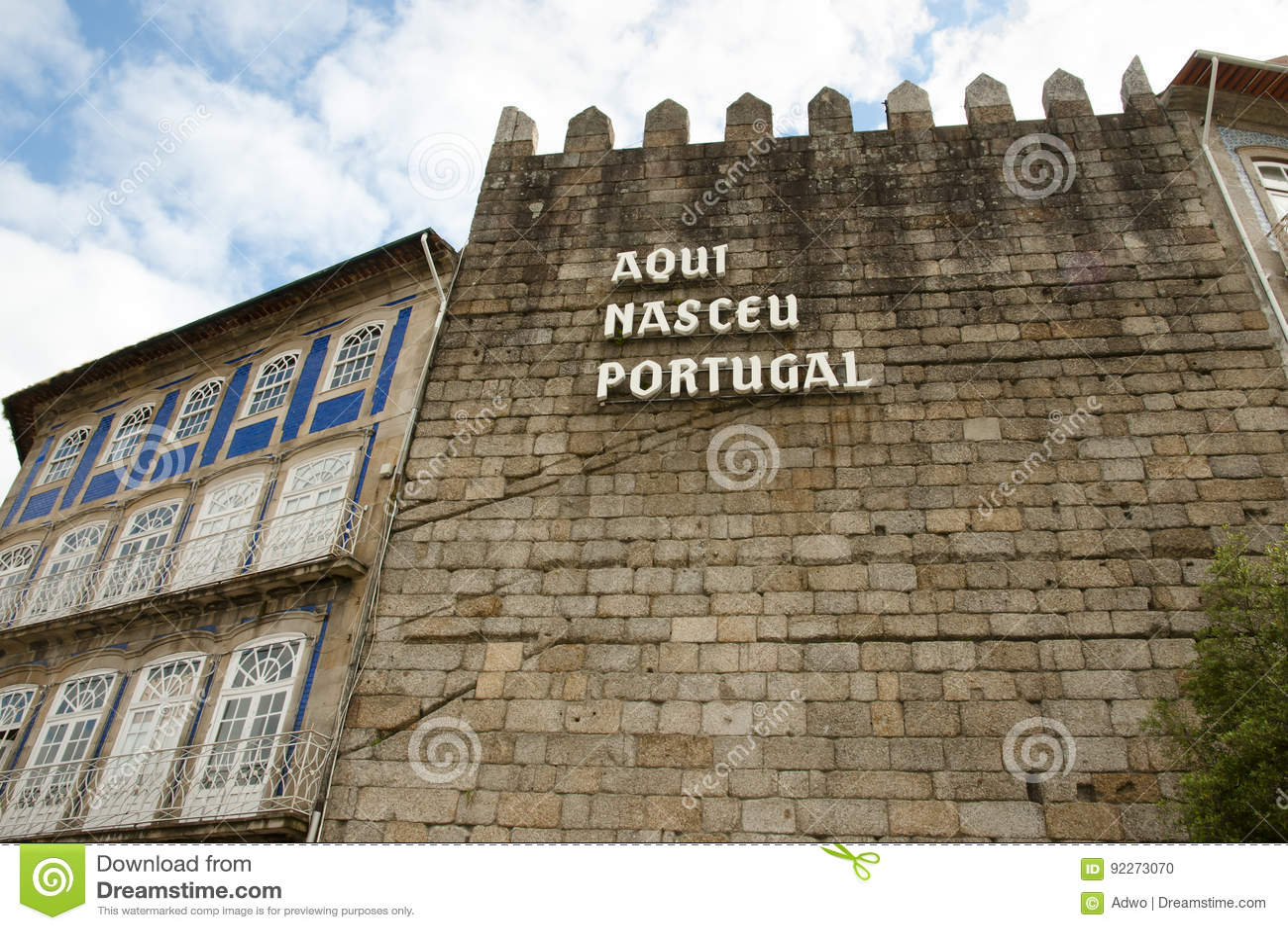 ` de Aqui Nasceu Portugal del ` - Guimaraes - Portugal