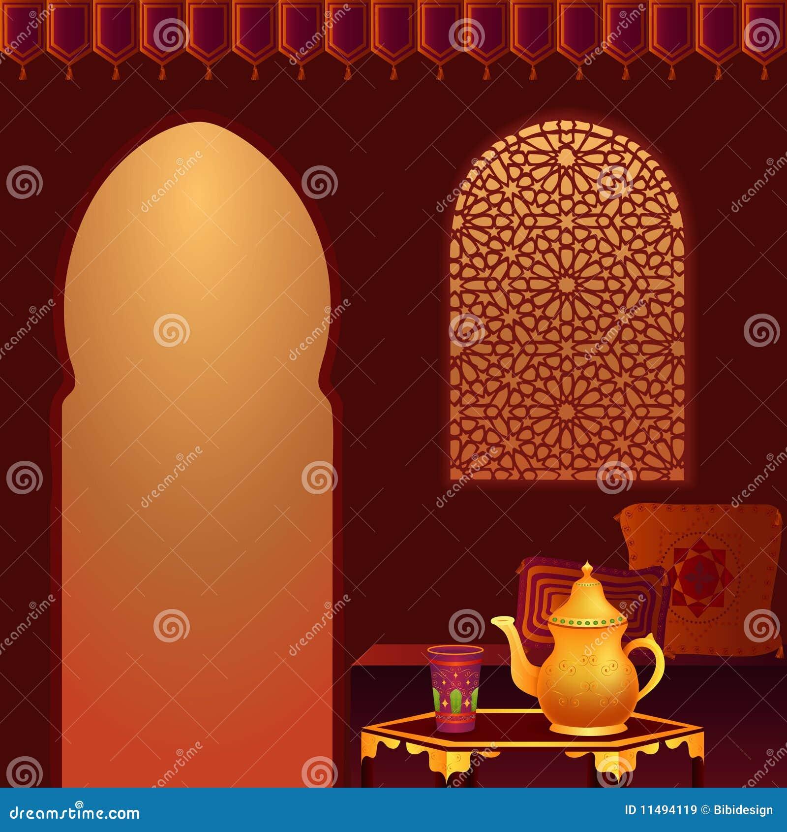 De Arabische Zaal van de Thee