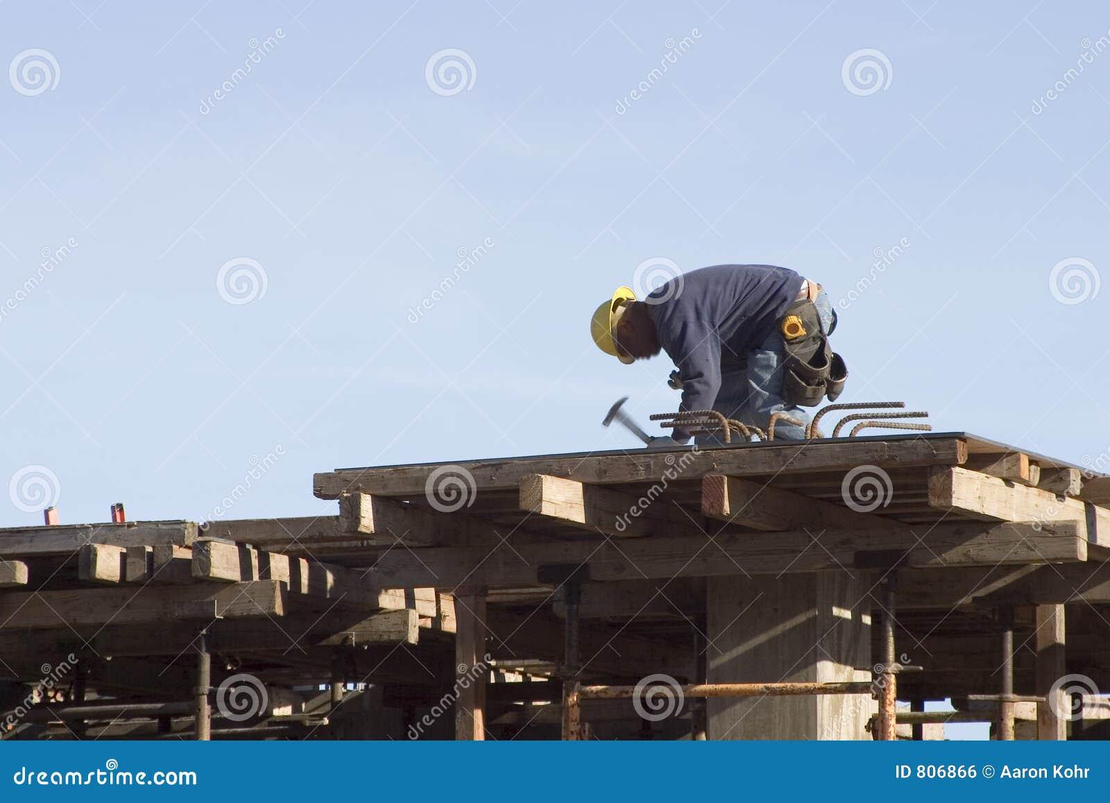 De Arbeider van het dak
