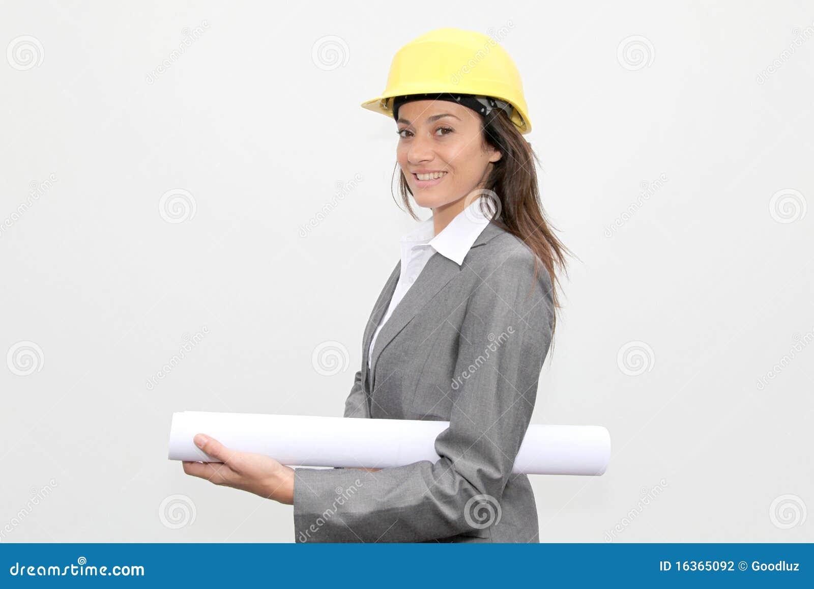 De architect van de vrouw