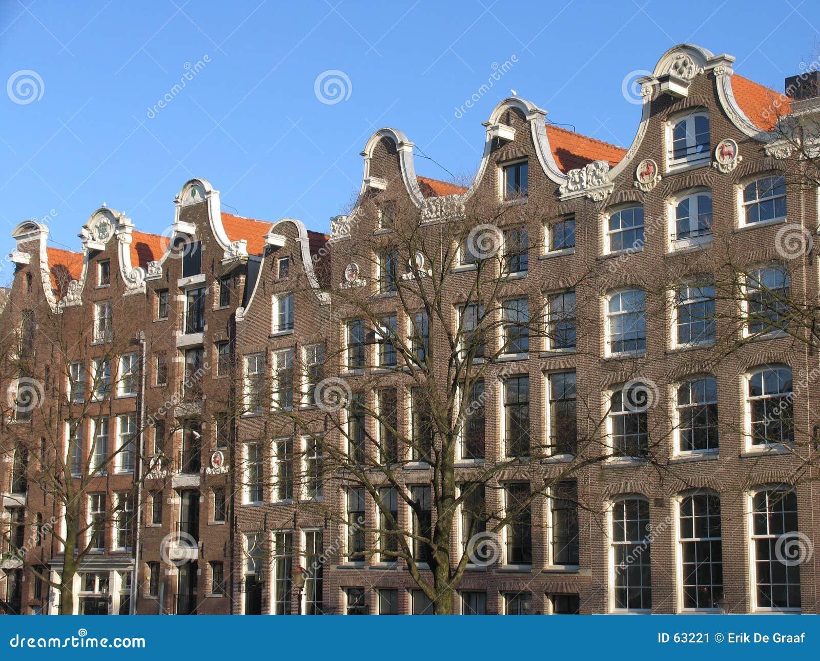 De architectuur van Amsterdam