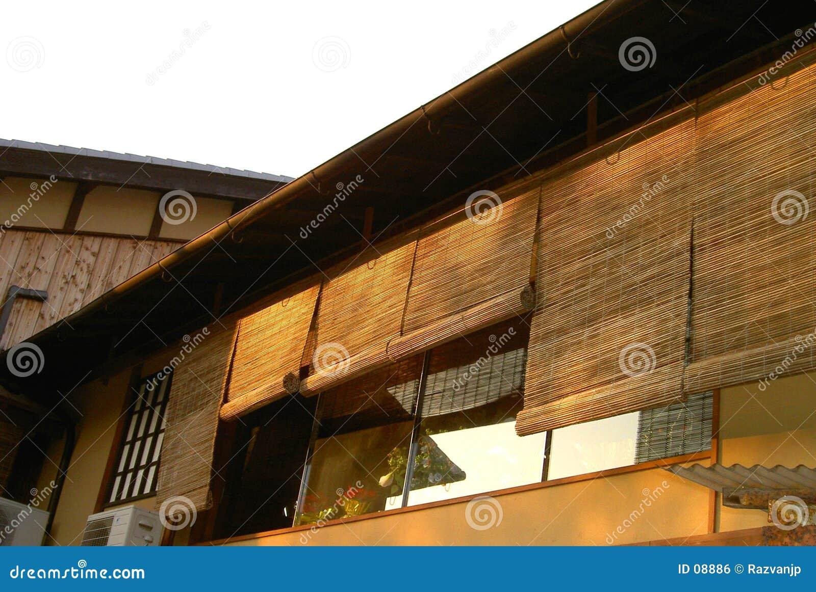 De architectuur van Gion