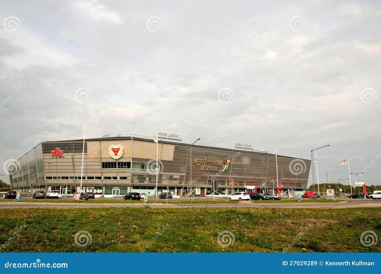 De Arena van het voetbal, Kalmar, Zweden