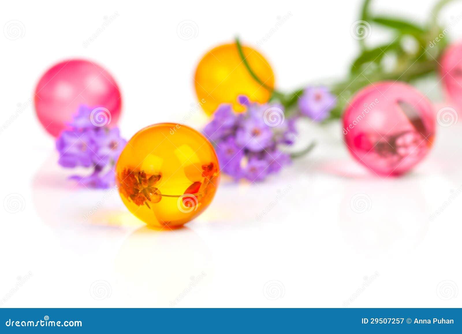 De aromatische ballen van het bad