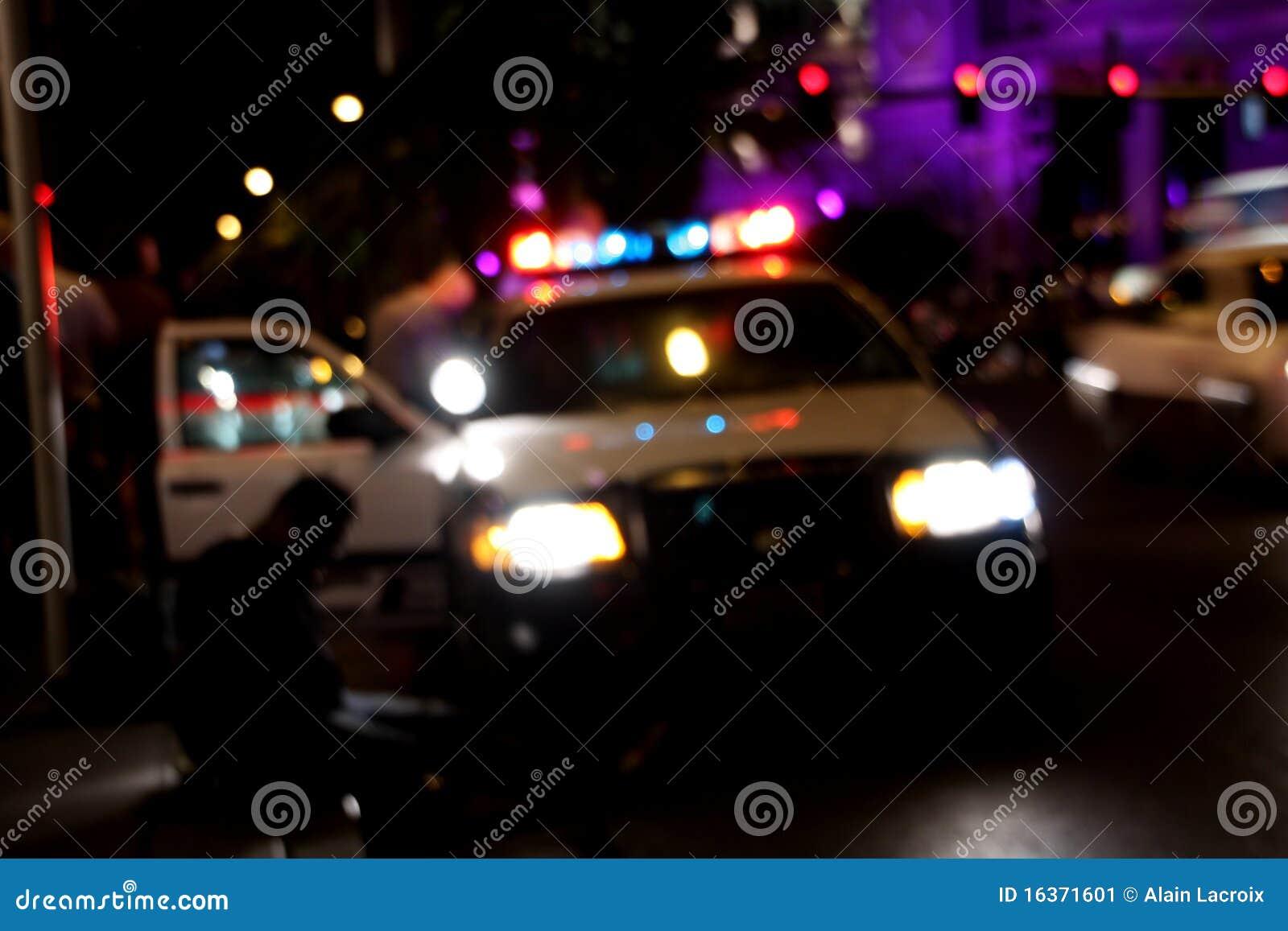 De arrestatie van de politie