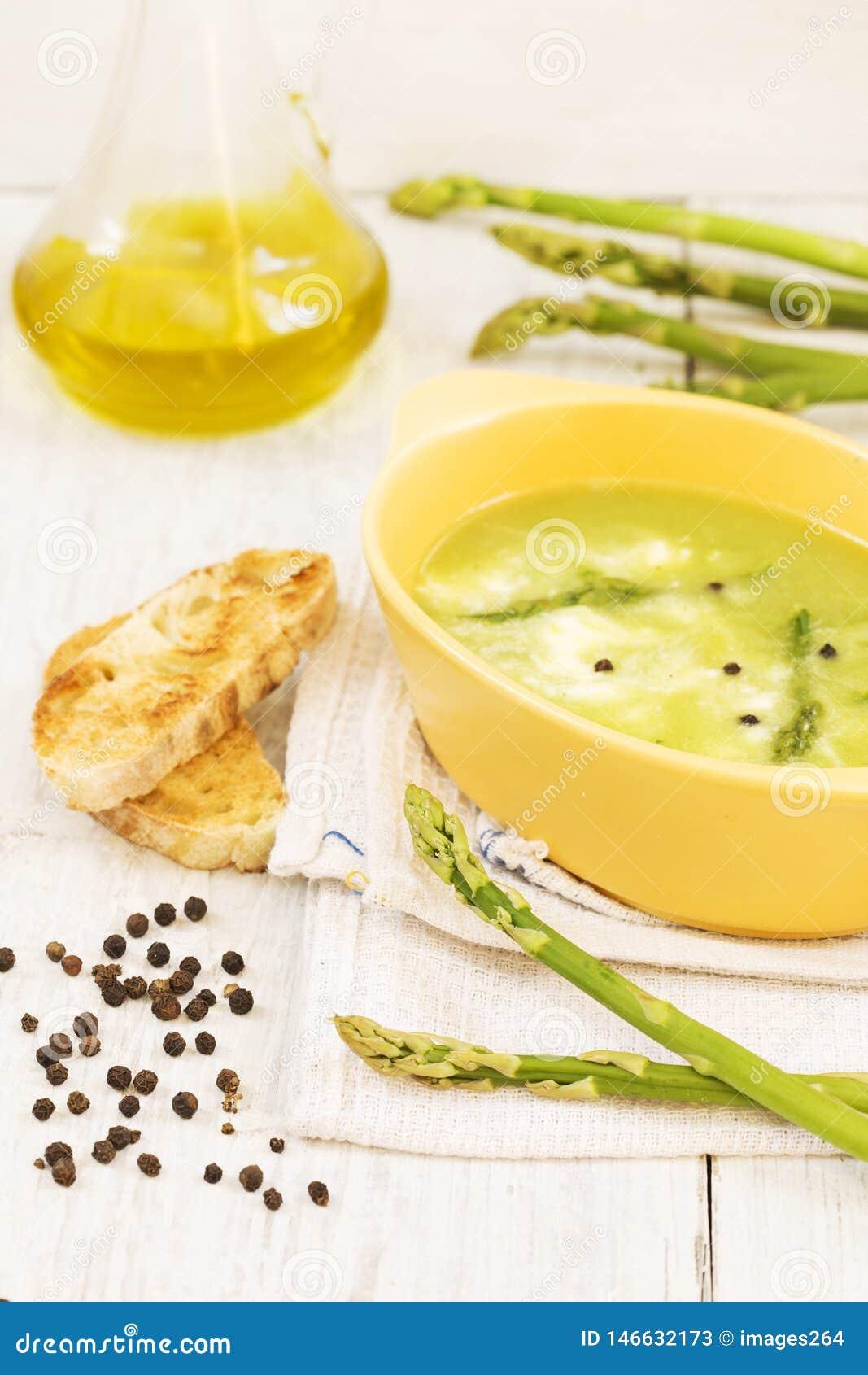 De asperge soup