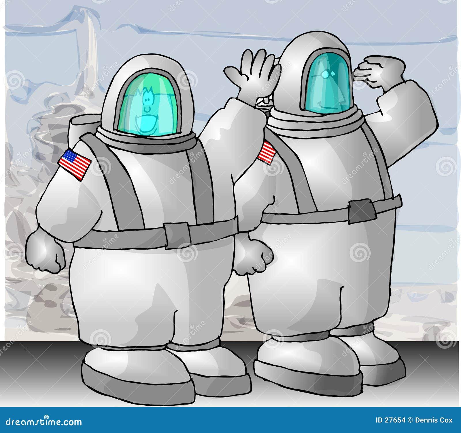 De Astronauten van de V.S.