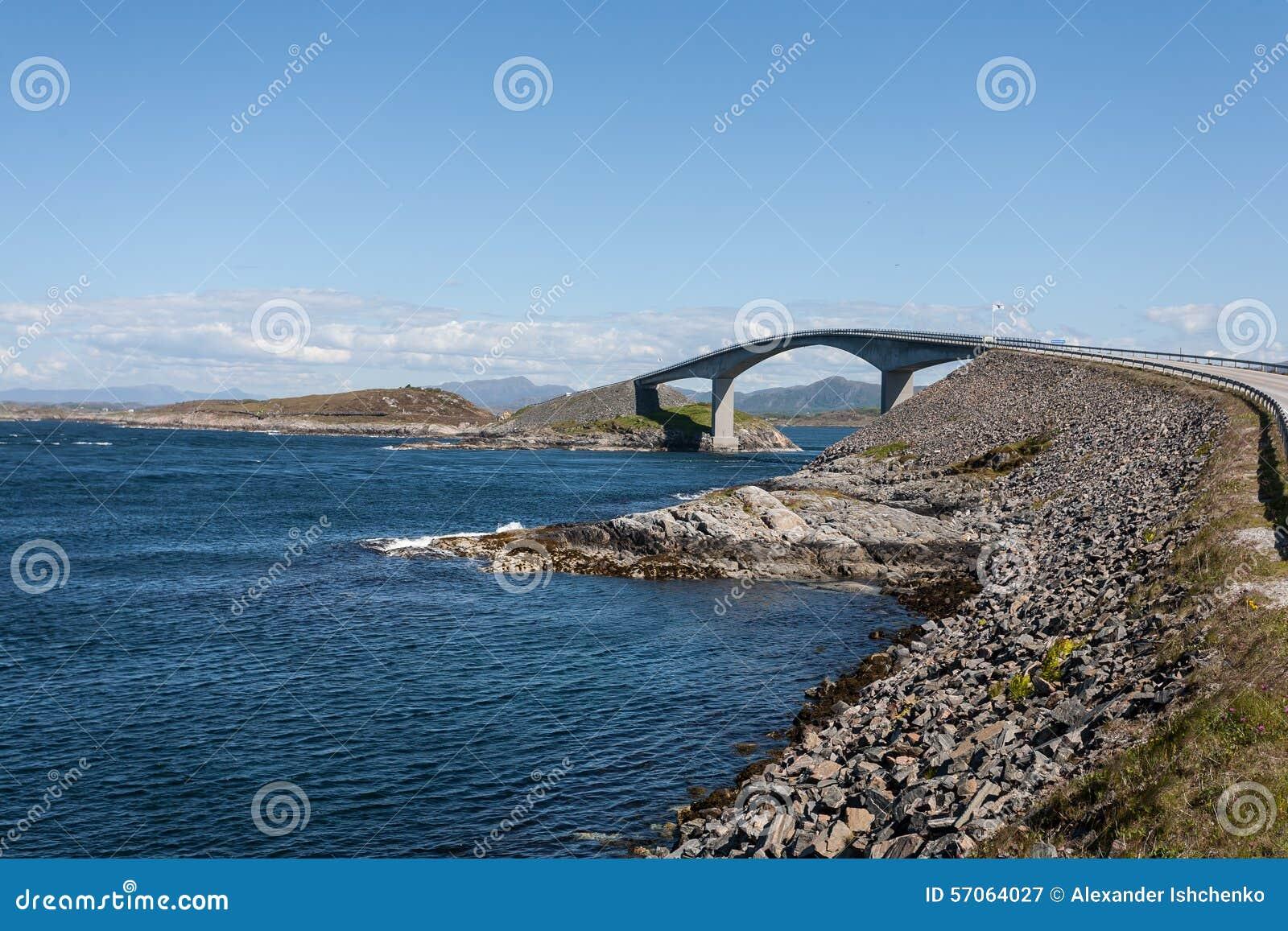 De Atlantische weg van Noorwegen