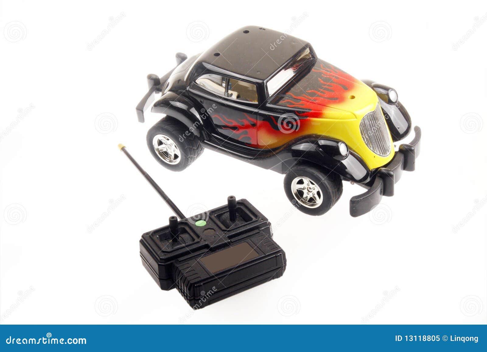 De auto van de afstandsbediening