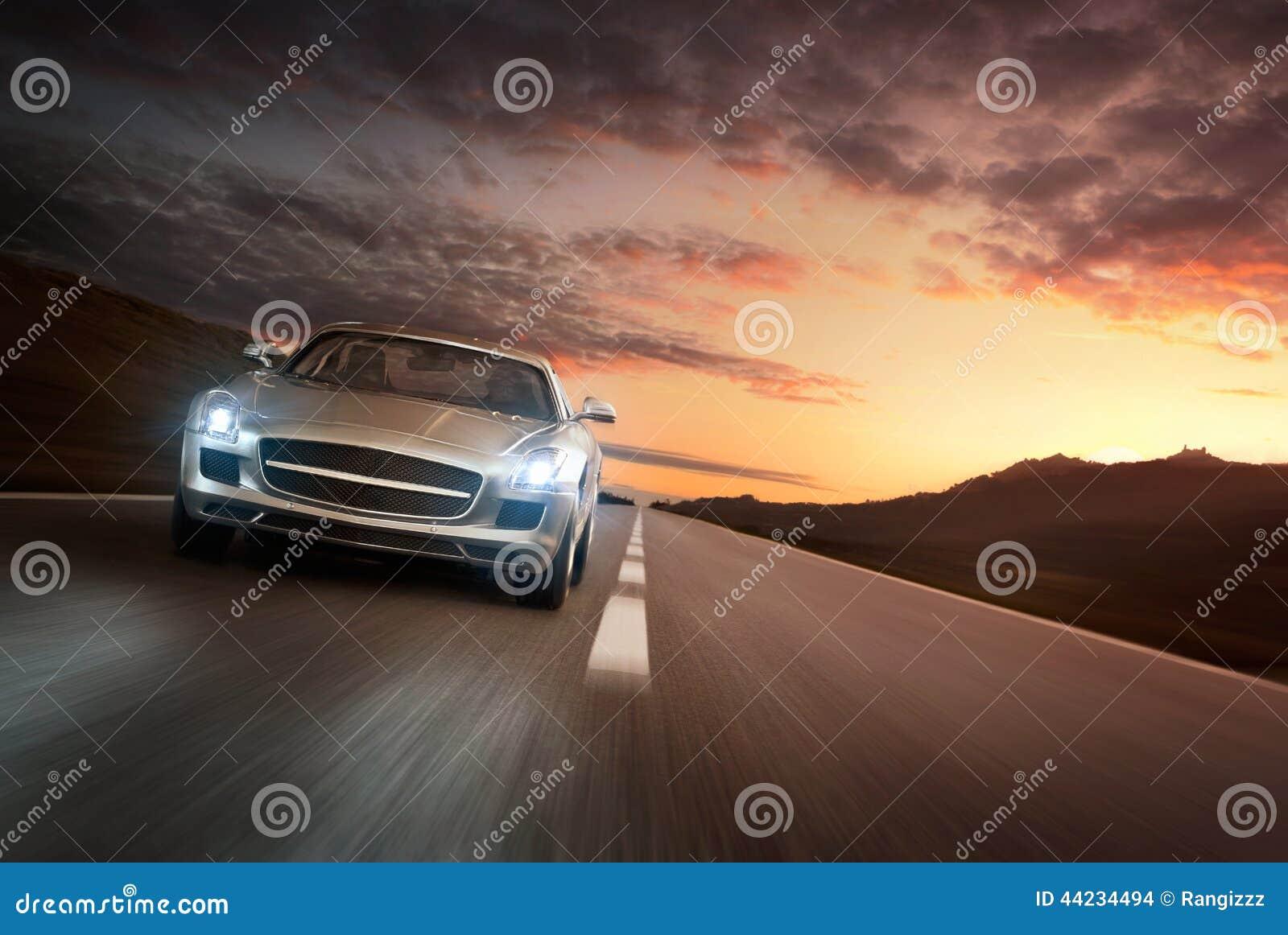 De auto van de luxe
