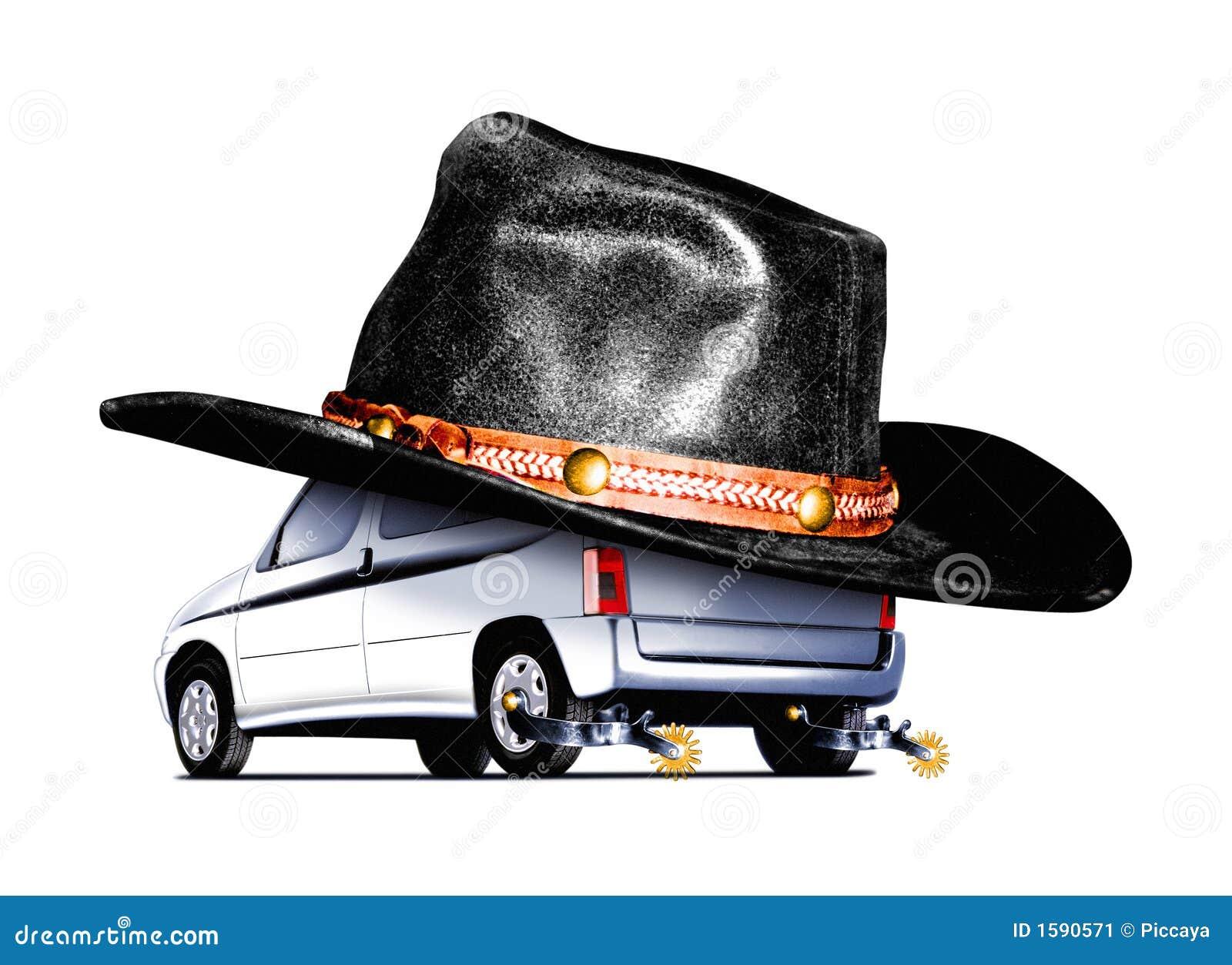 De auto van het concept