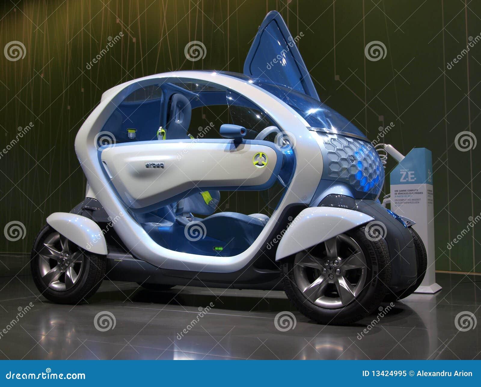 De Auto van het Concept van Renault Twizy