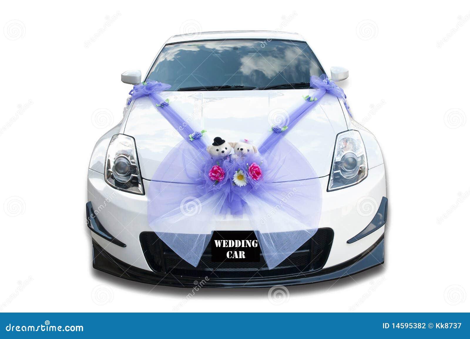 De auto van het huwelijk stock foto afbeelding bestaande
