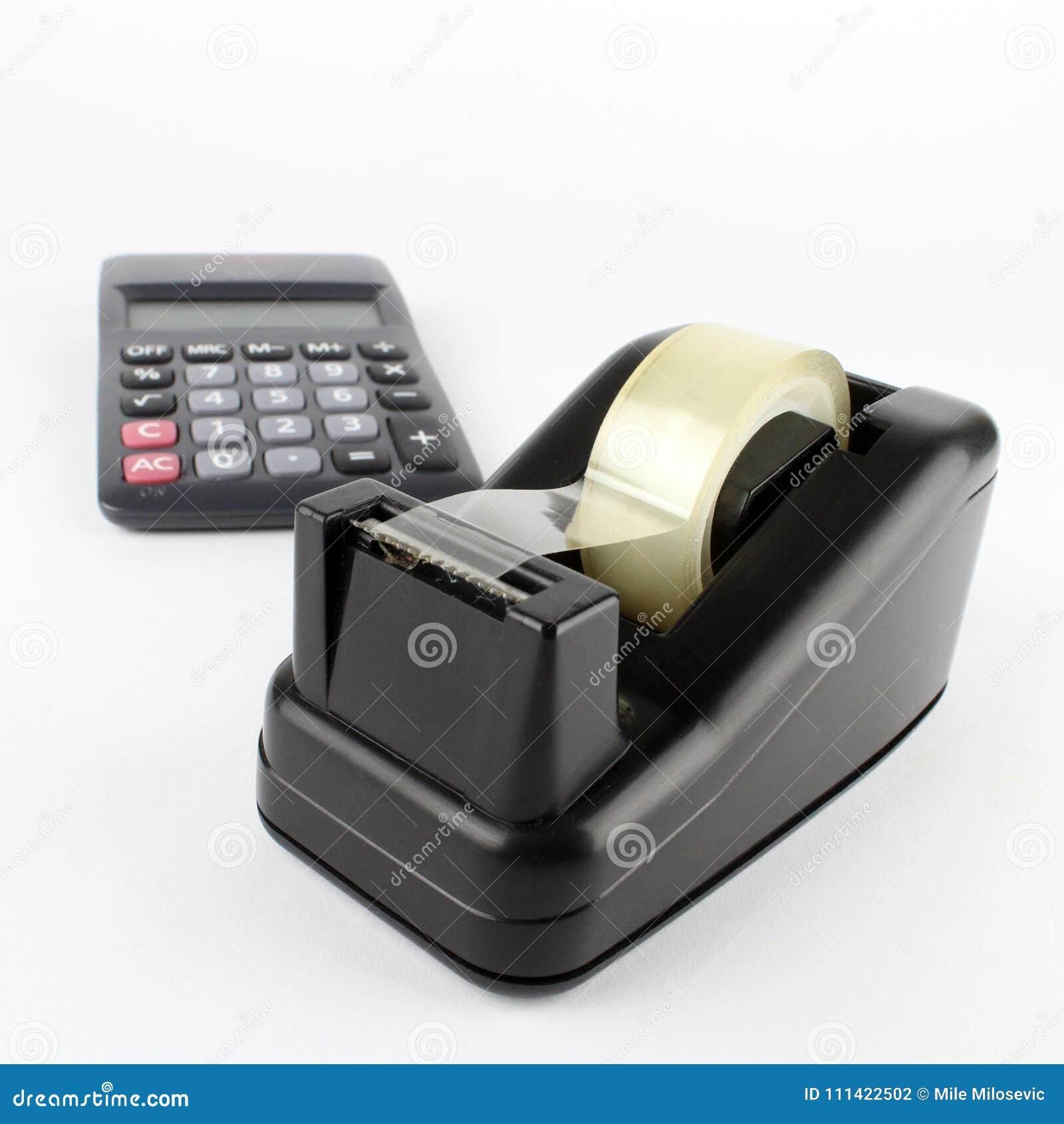 De automaat van de bureauband met calculator