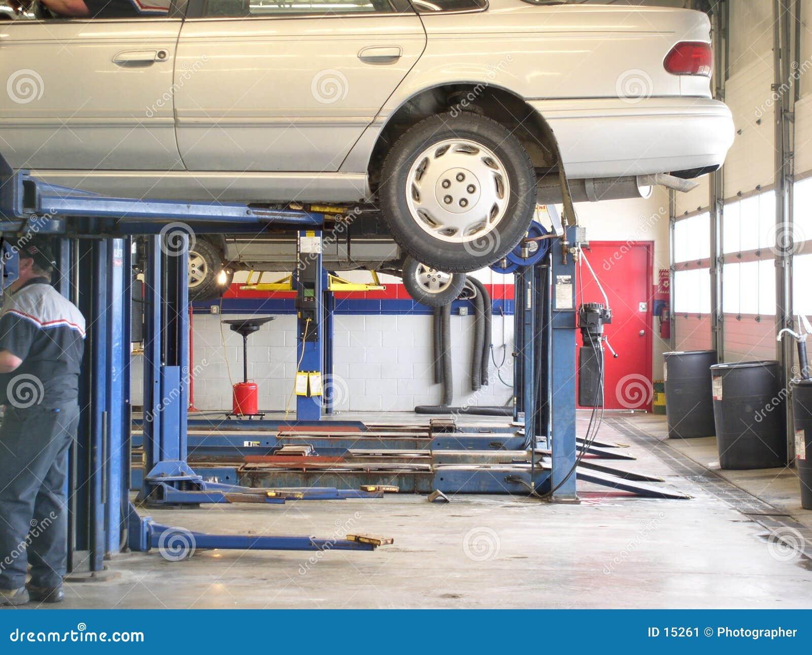 De automobiel dienst