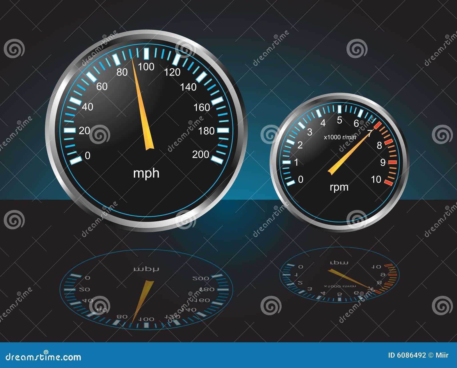 De automobiele Maten van het Dashboard