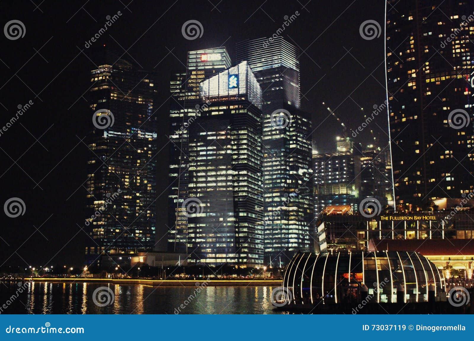 De Baai Singapore van de jachthaven