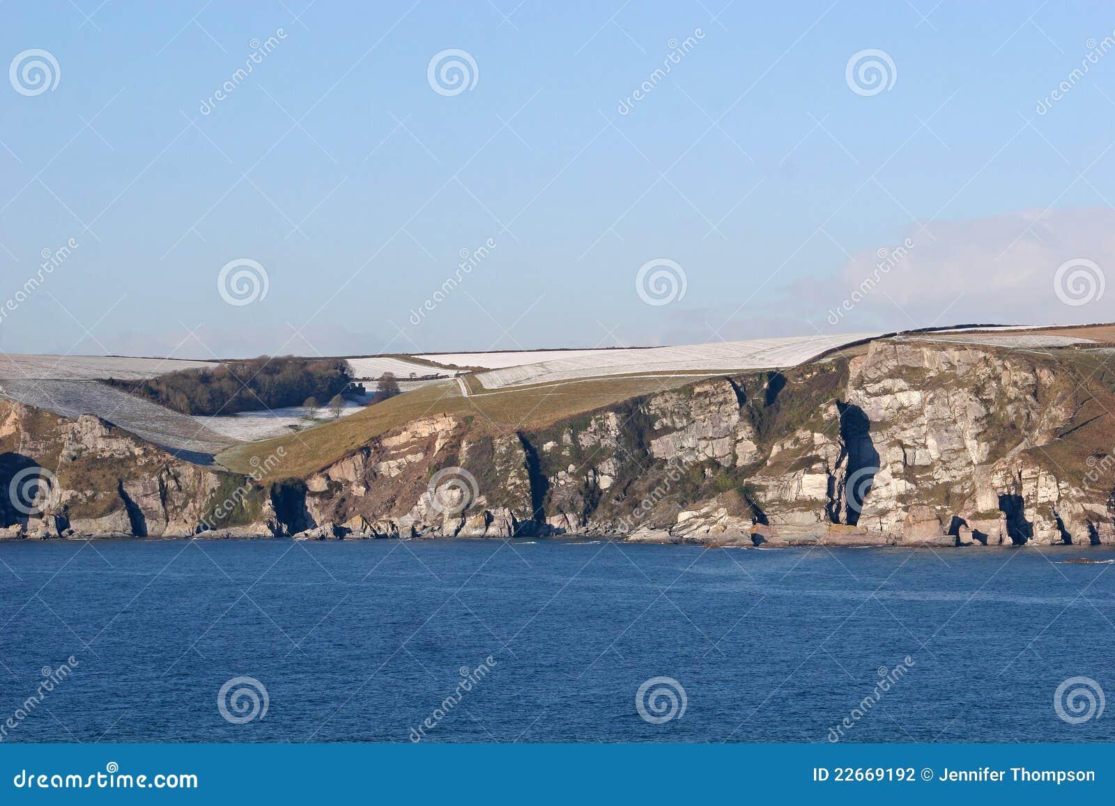 De baai van Bigbury