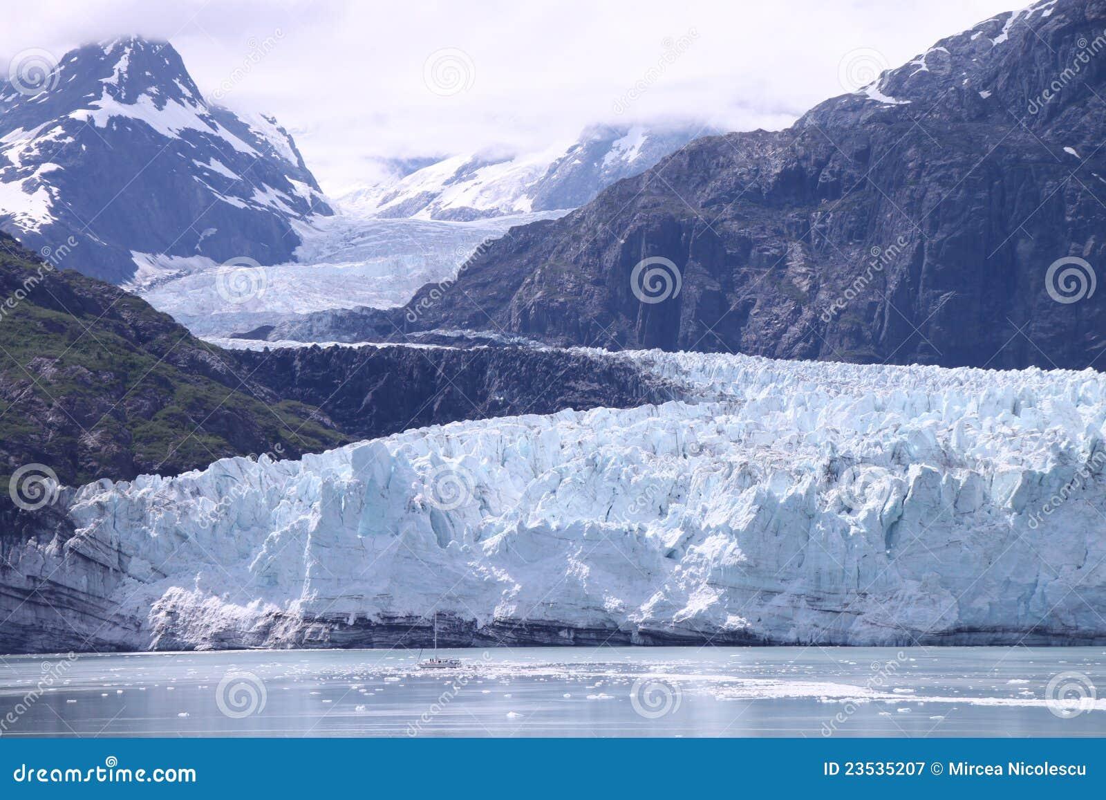 De Baai van de gletsjer