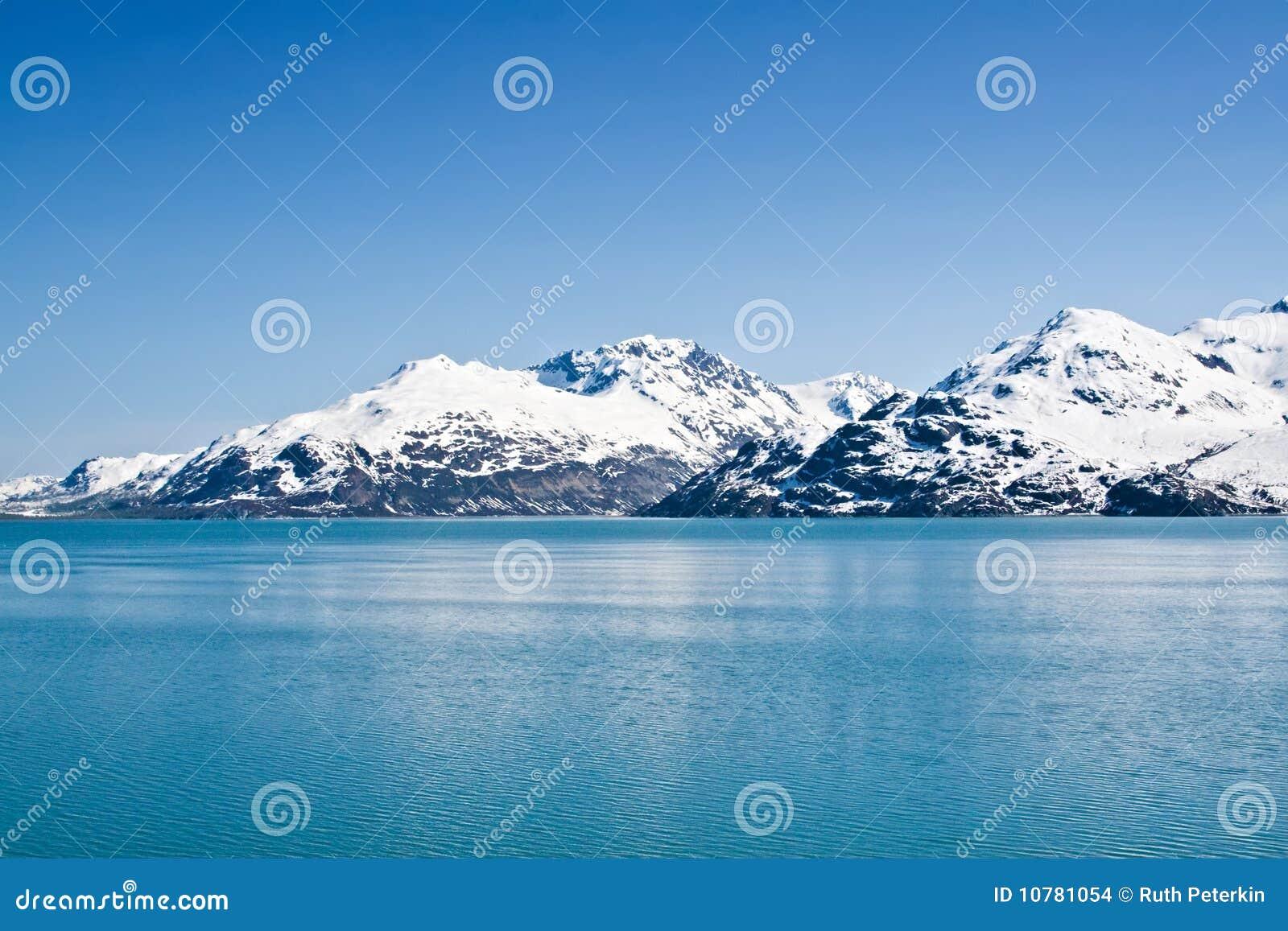 De Baai van de gletsjer, Alaska