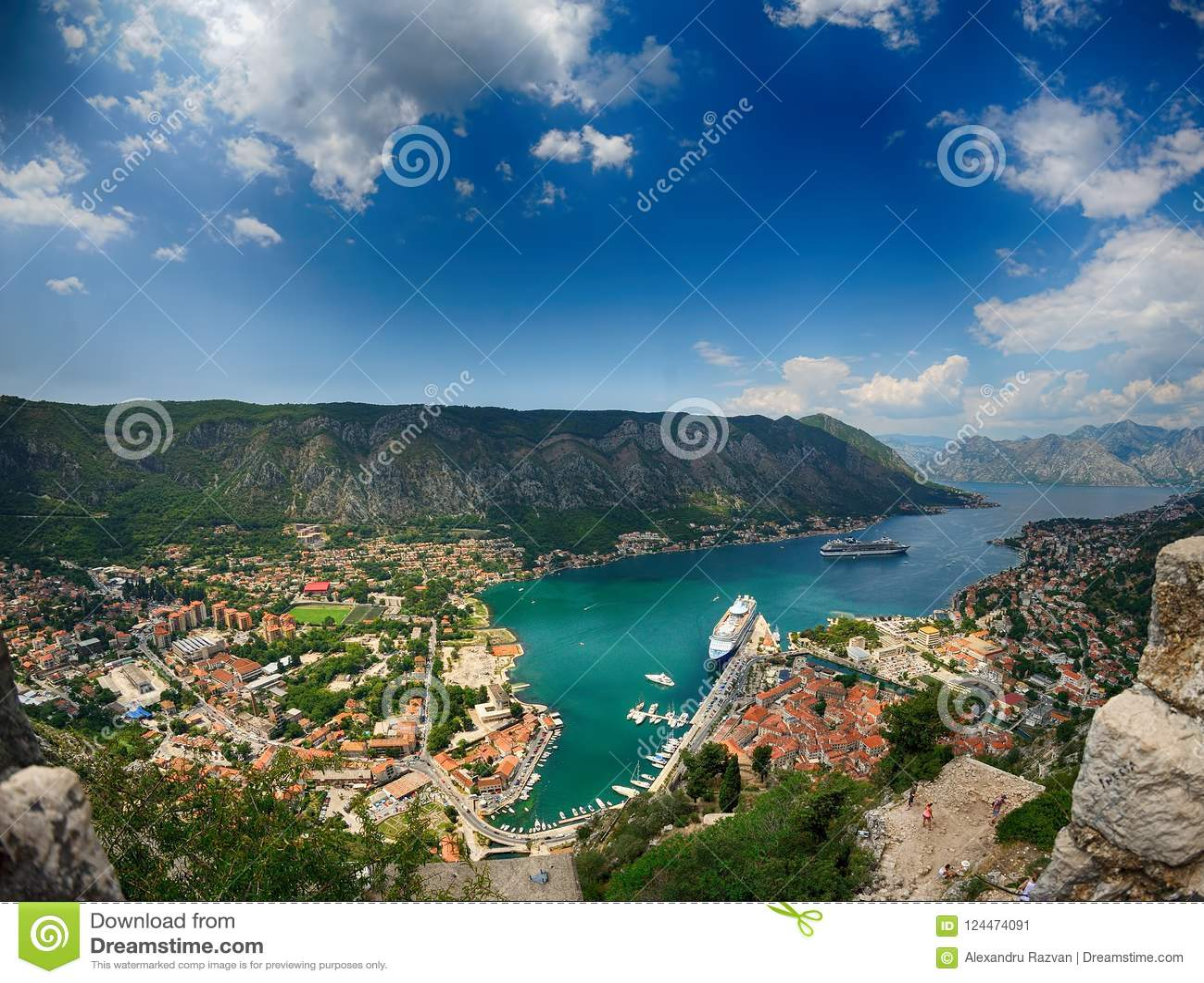 De Baai van Kotor, Montenegro