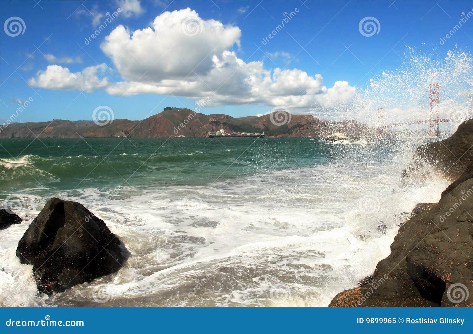 De Baai van San Francisco.