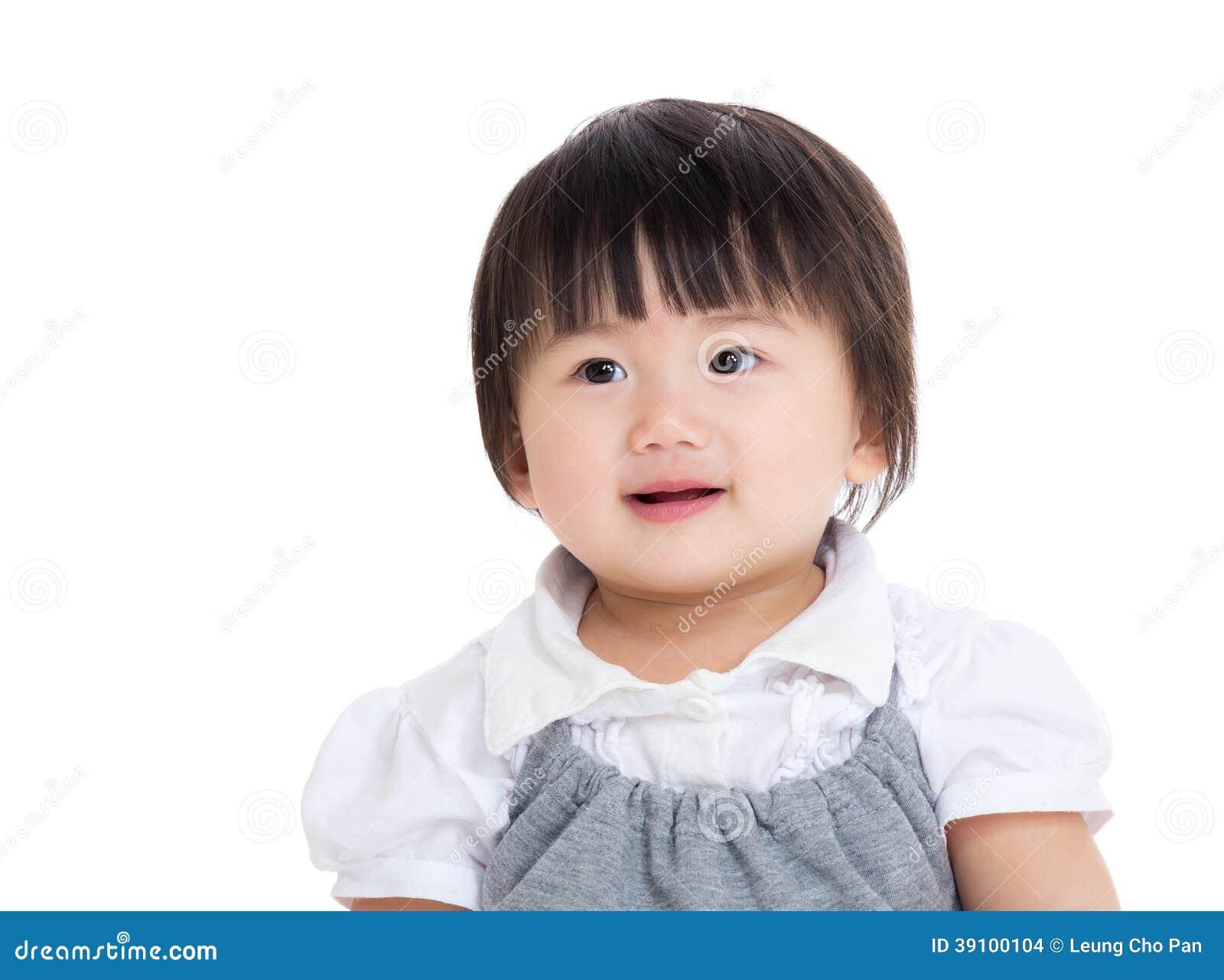 De babymeisje van Azië