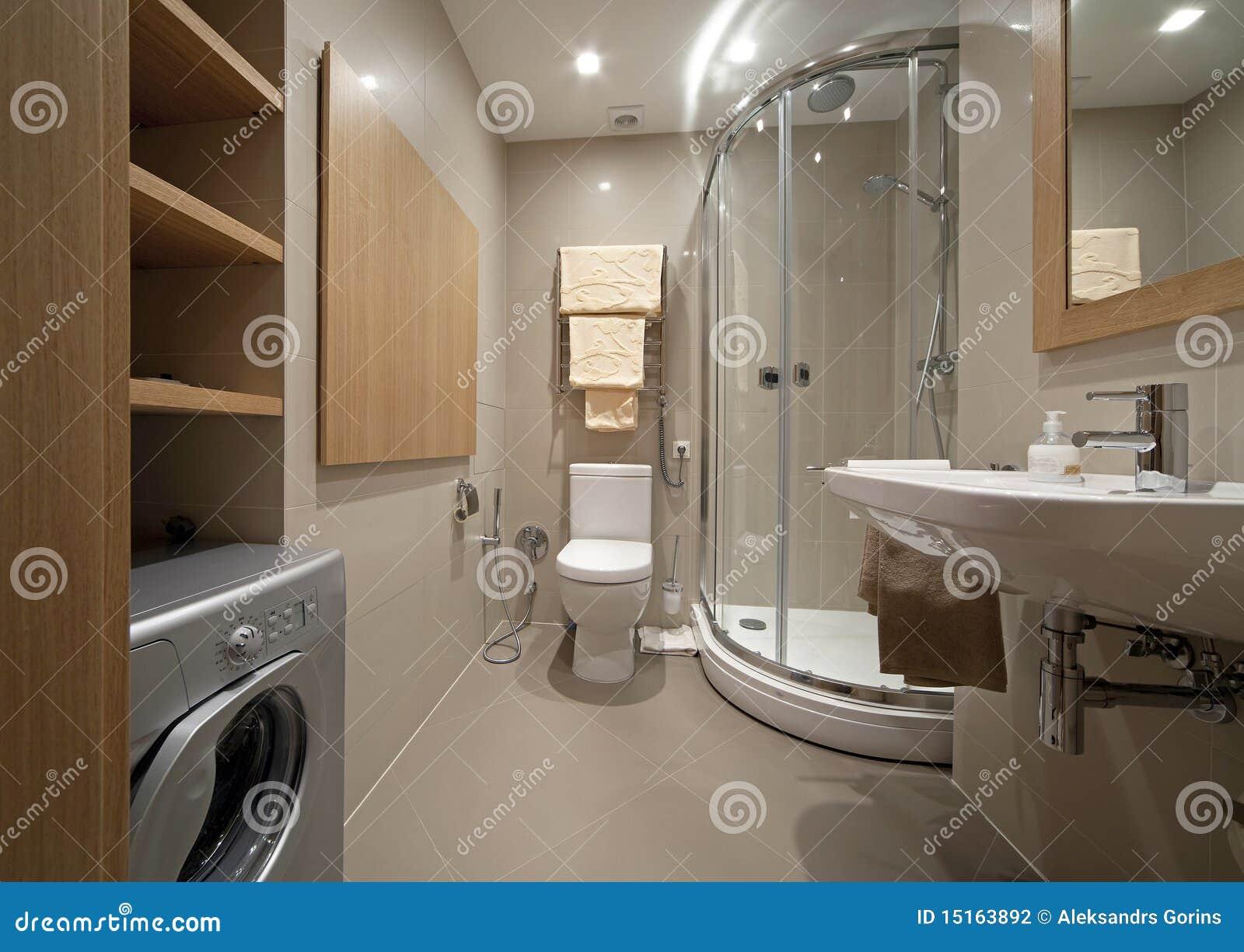 De badkamers van de ontwerper