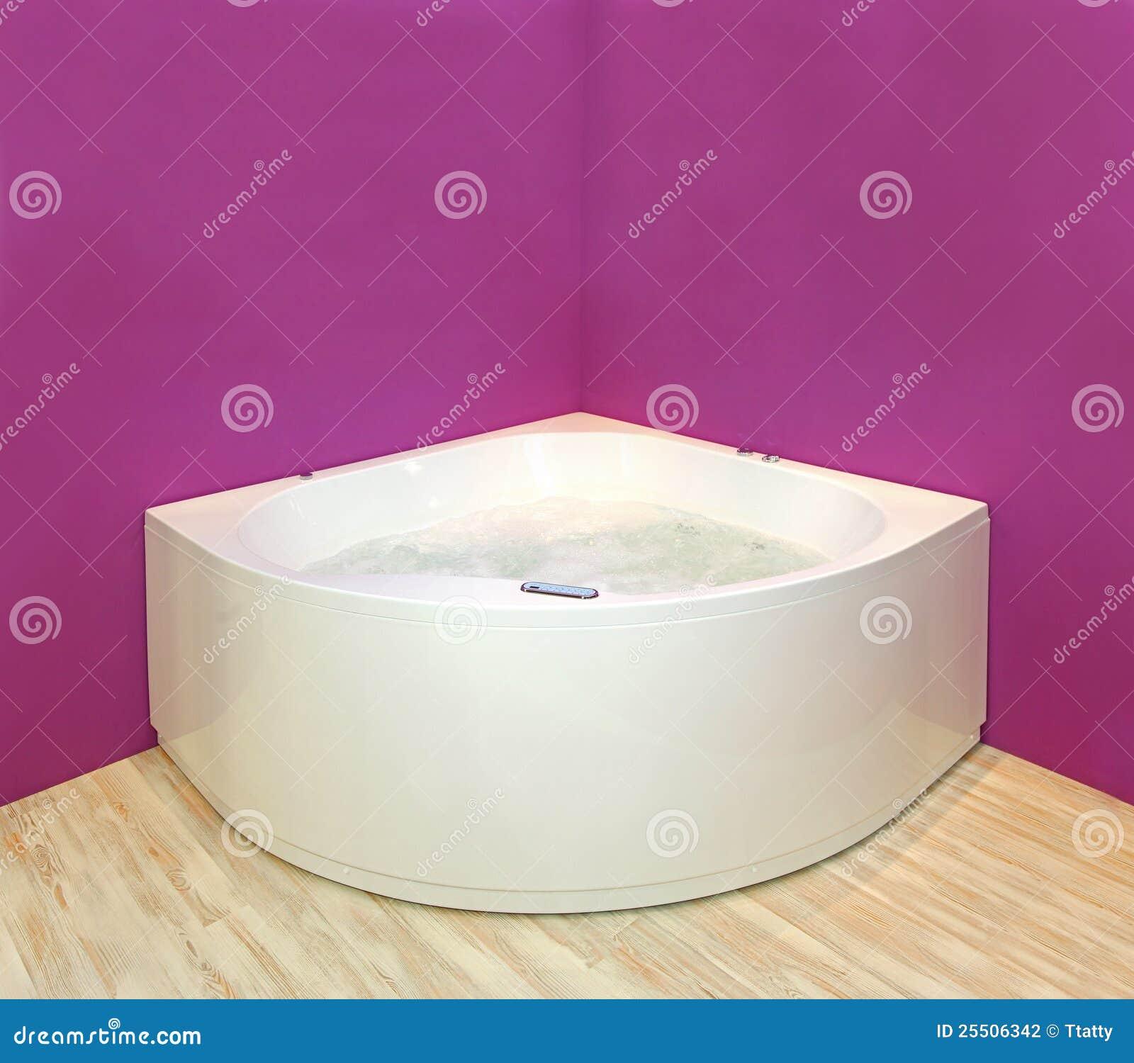 De badkuip van de hoek stock fotografie afbeelding 25506342 - Sofa van de hoek uitstekende ...