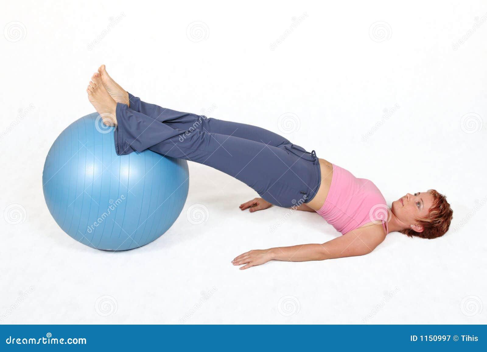 De bal van de gymnastiek