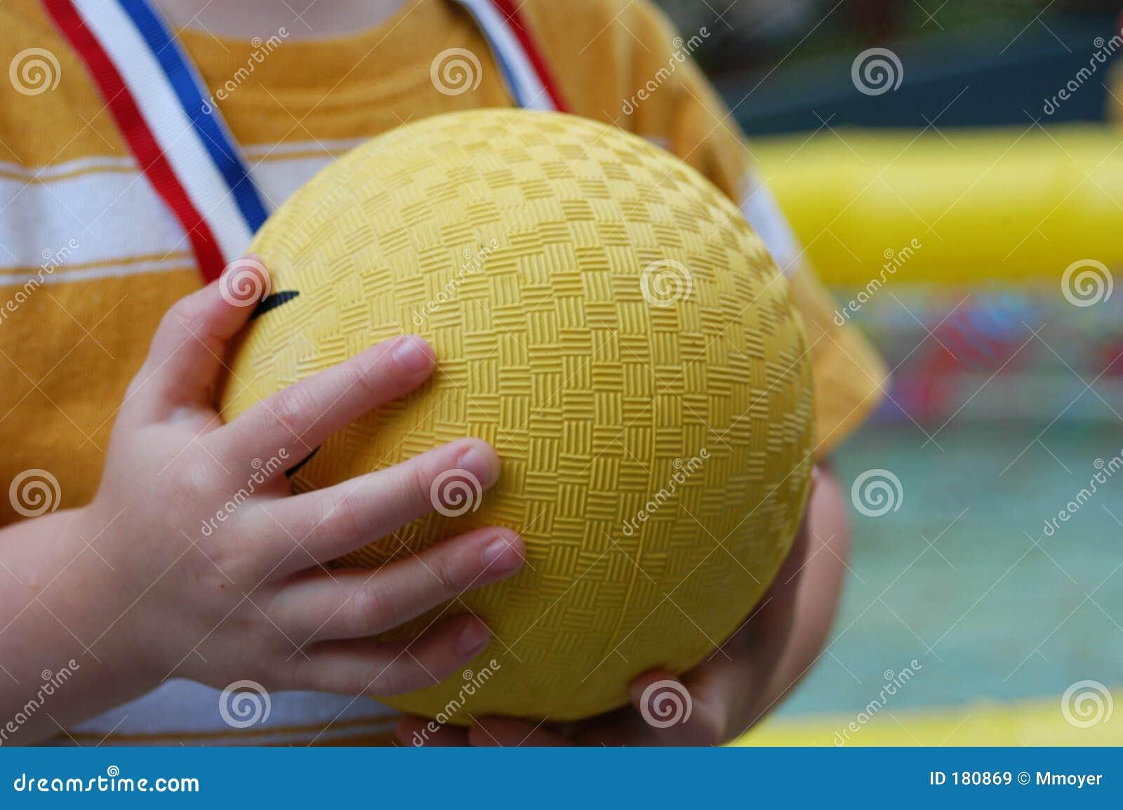 De bal van de schop