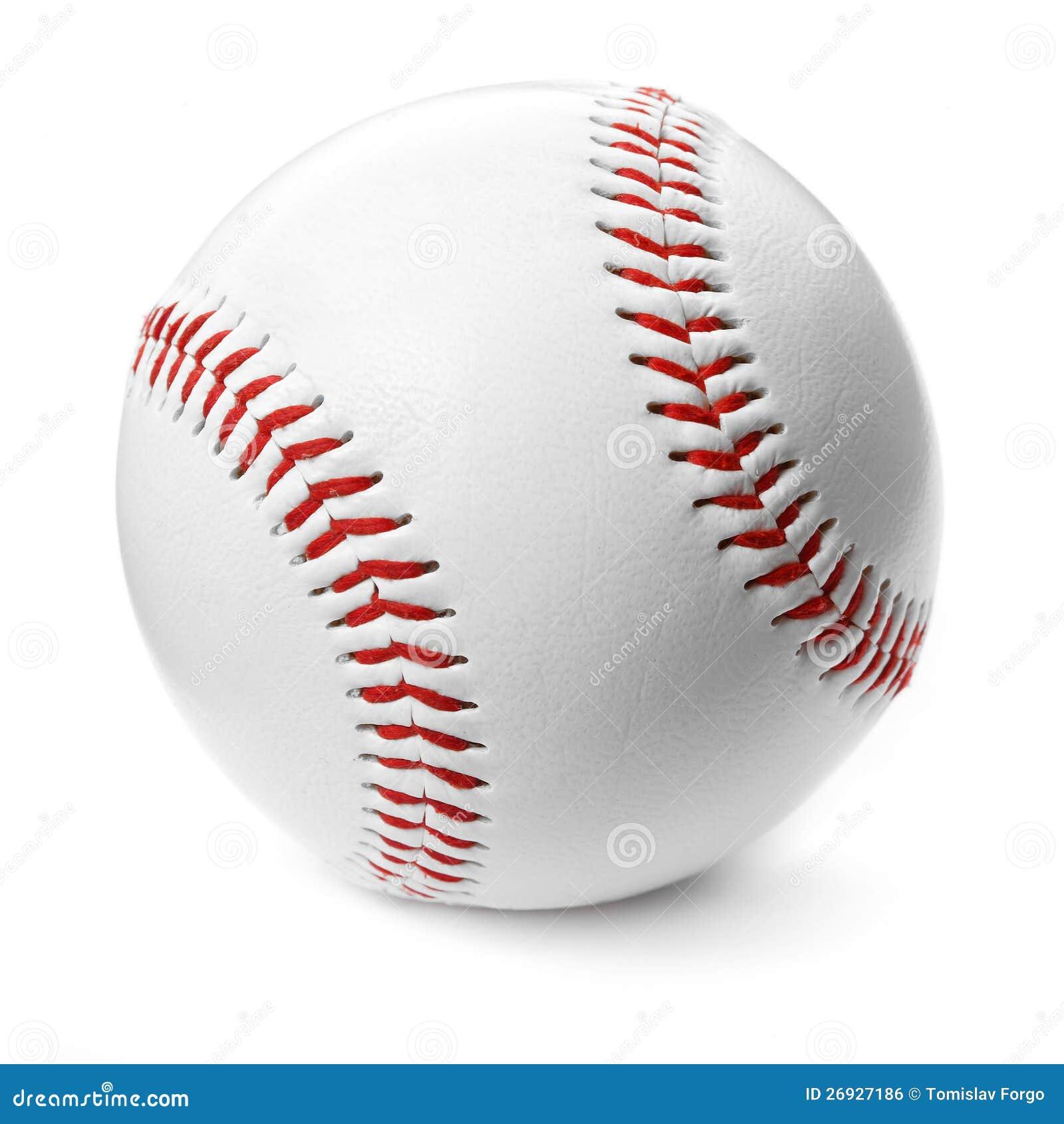 De bal van het honkbal