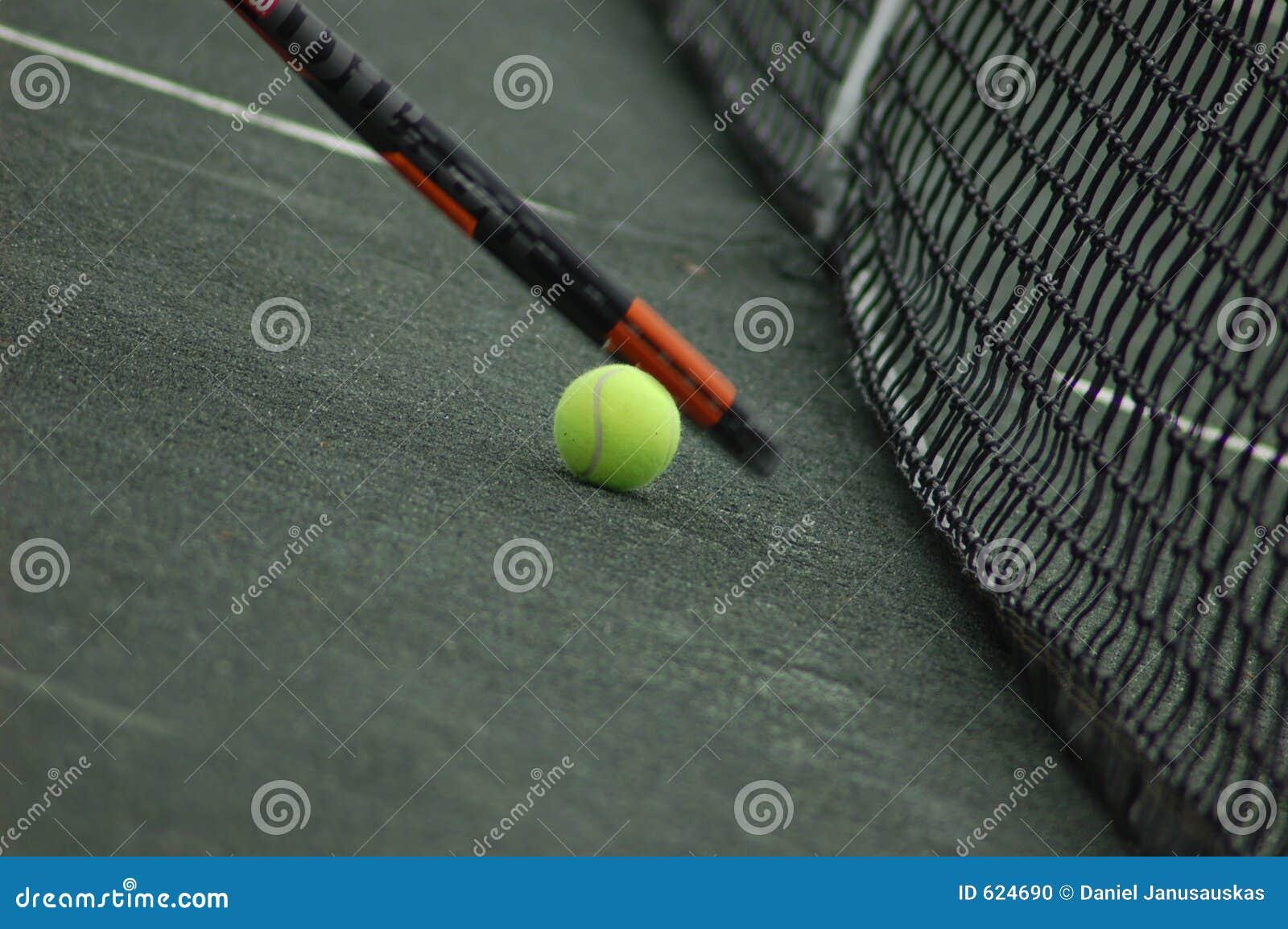 De Bal van het tennis en de Racket van het Tennis