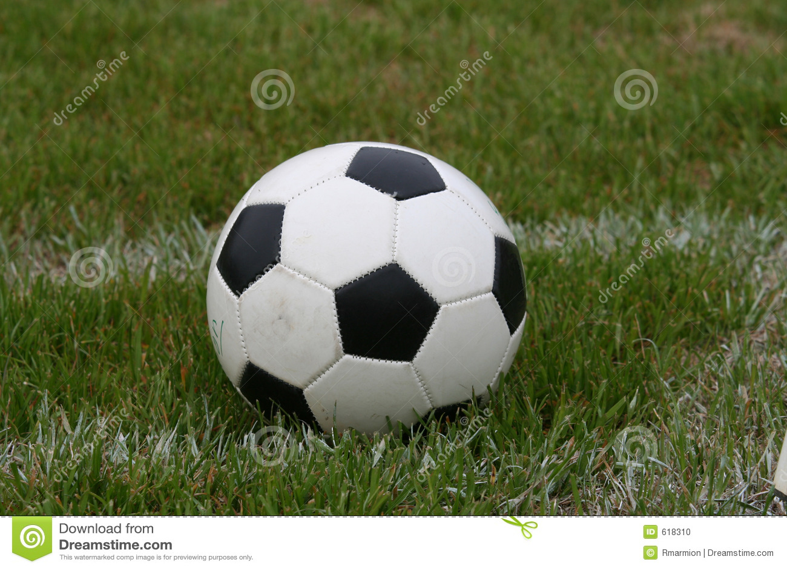 De Bal van het voetbal op Gebied